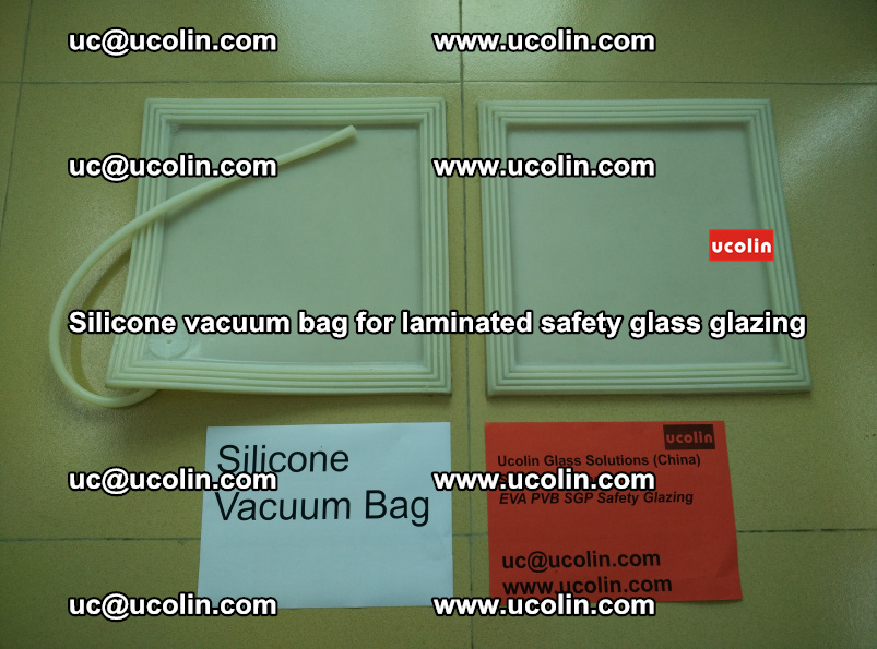 Silicone vacuum bag for safety laminated glalss galzing oven vacuuming (20)
